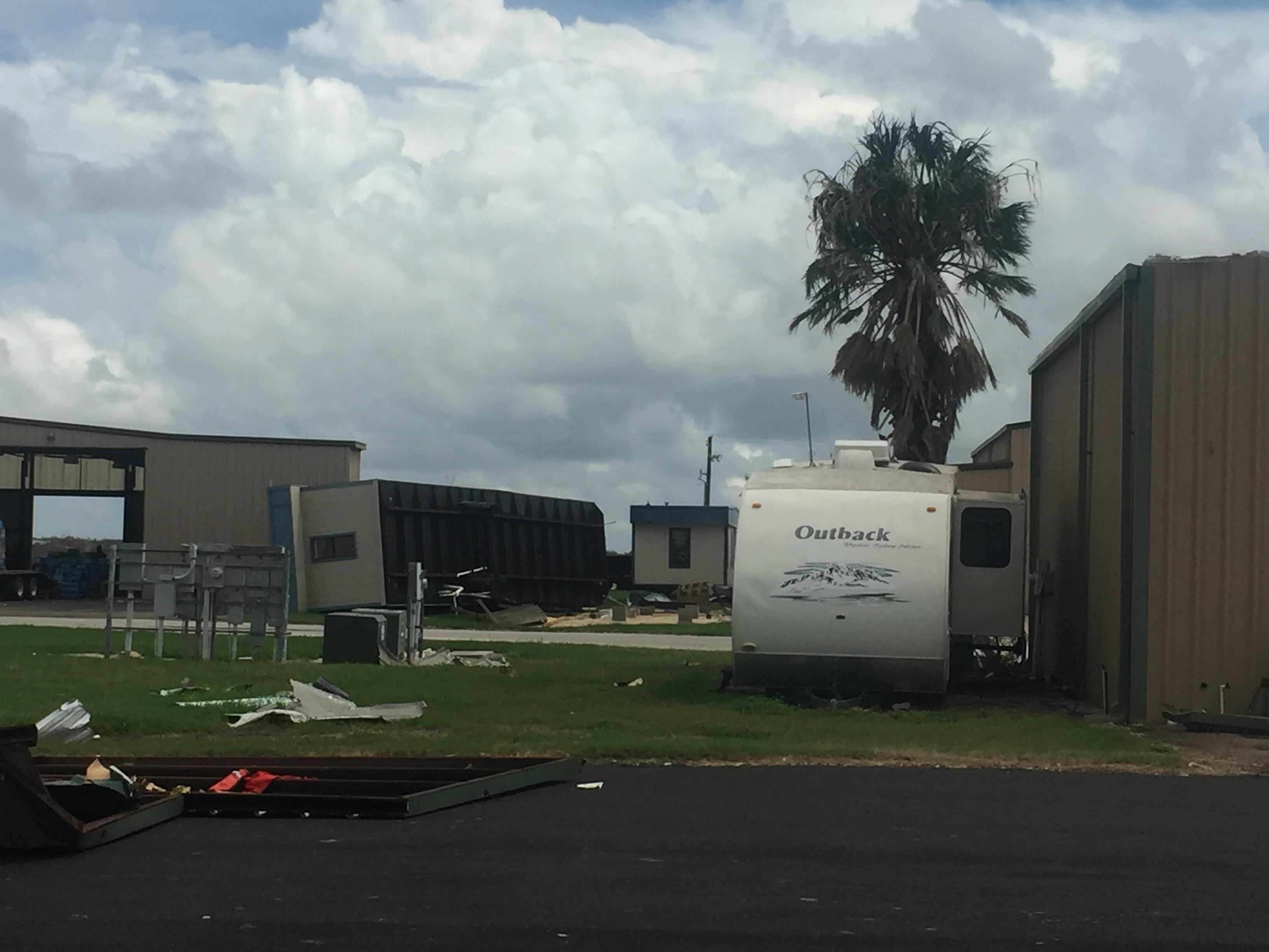 Hurricane Harvey: Rockport Wind Damage