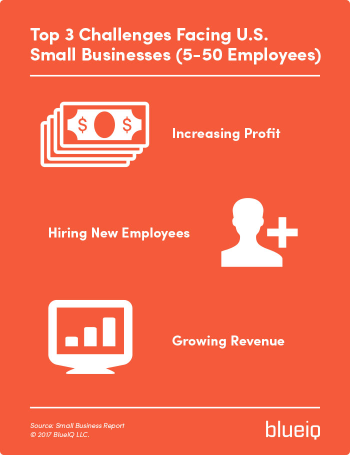top 2 challenges for American small businesses