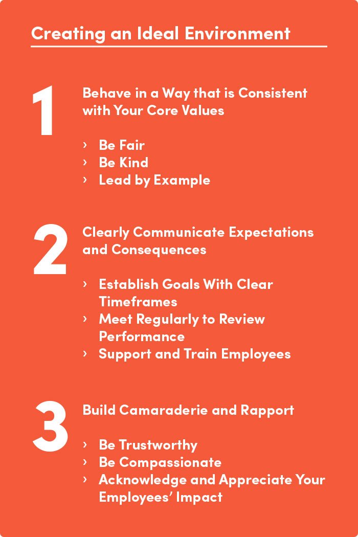 leadership guide to creating-and ideal work environment